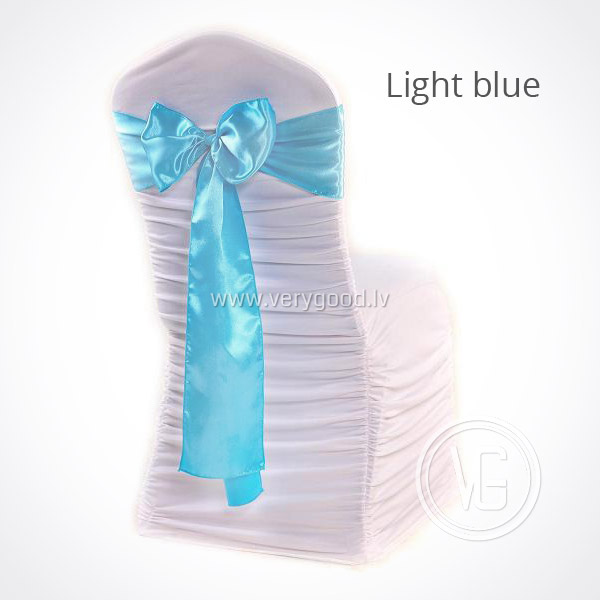 Аренда банта на стул (Light blue) - EUR 0.65