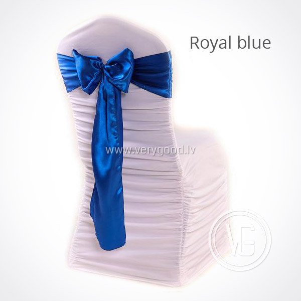 Аренда банта на стул (Royal blue) - EUR 0.65